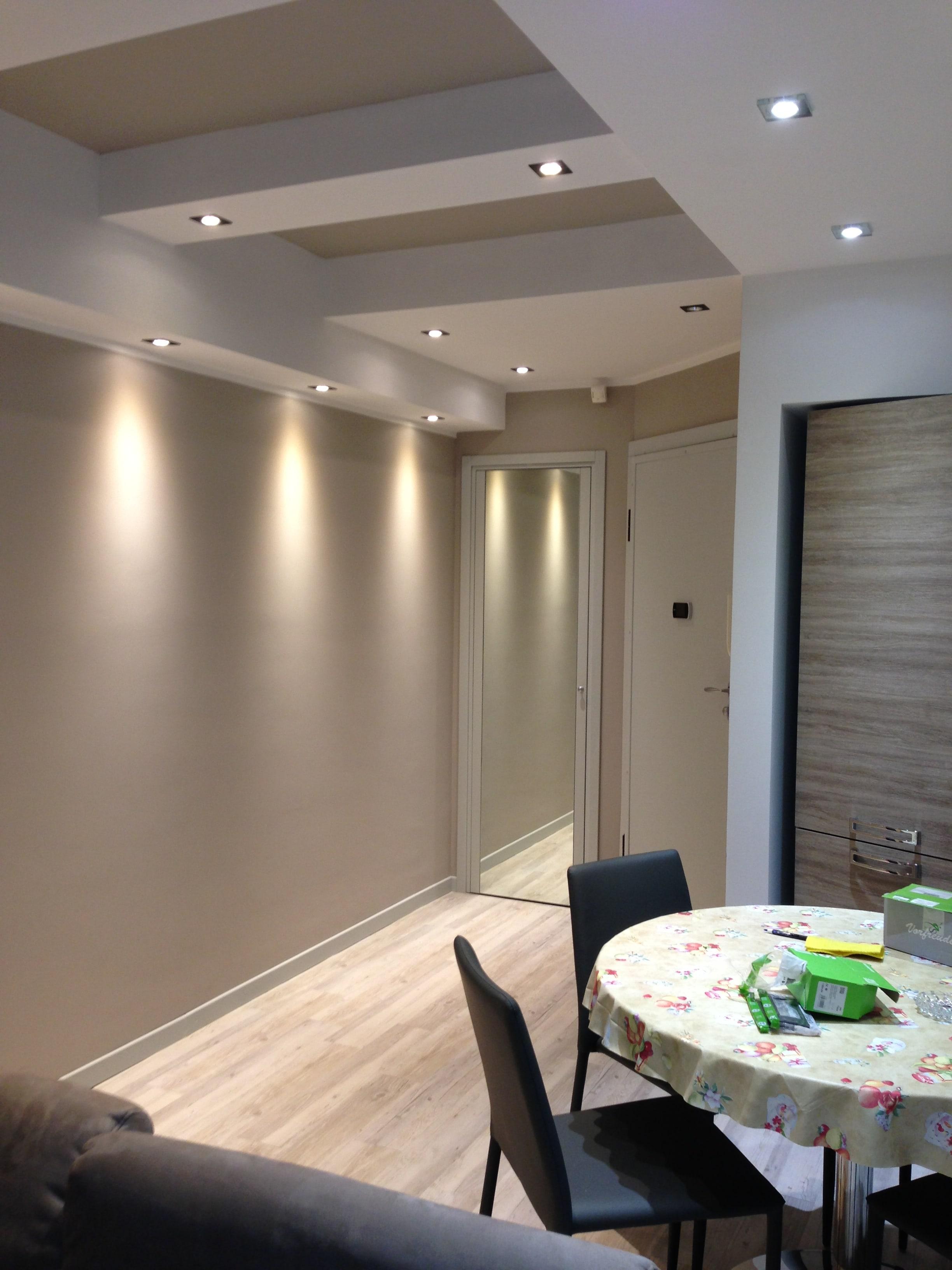 Illuminazione LED nel ristrutturazioni
